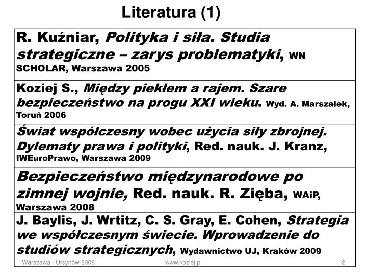 Literatura (1)