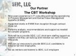 our partner the cbt workshop