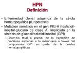 hpn definici n
