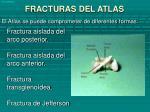fracturas del atlas
