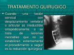 tratamiento quirugico