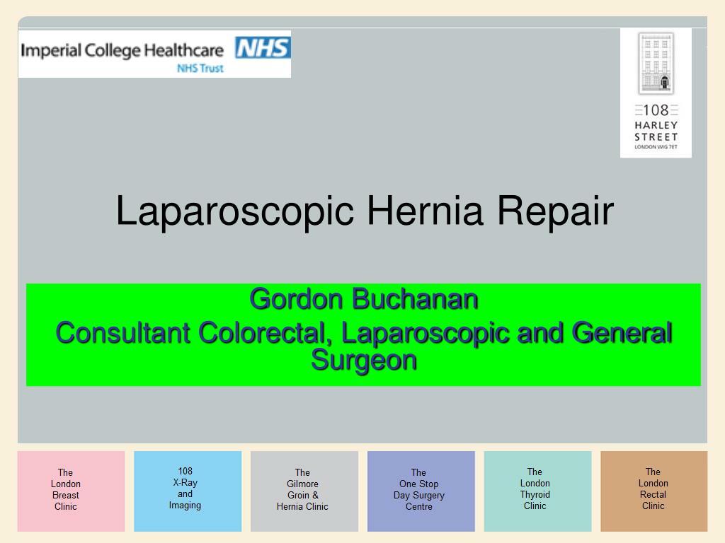 laparoscopic hernia repair l.