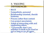 3 valuing differences
