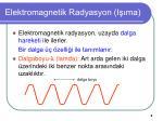 elektromagnetik radyasyon i ma2