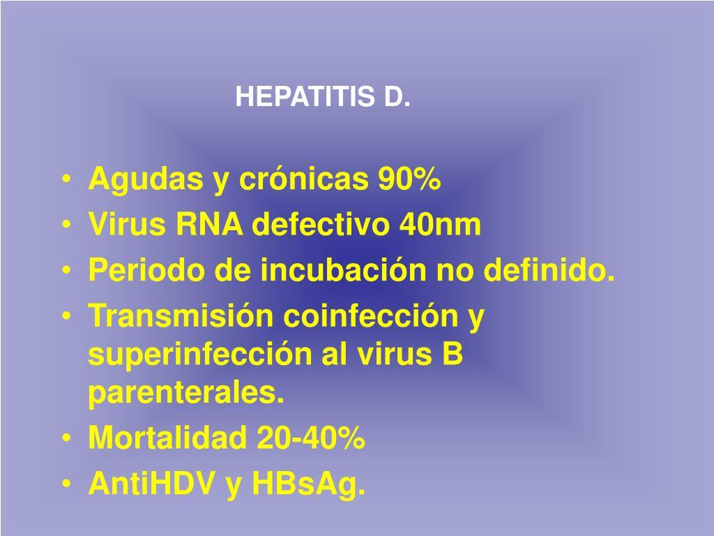 HEPATITIS D.