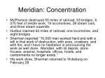 meridian concentration38