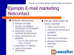 ejemplo e mail marketing netcontact77