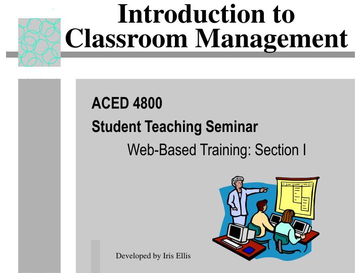introduction to classroom management n.