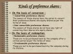 kinds of preference shares9