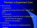 thomson s experiment cont17