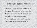 comenius school projects