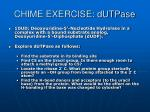 chime exercise dutpase