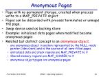 anonymous pages