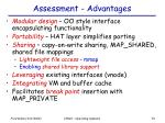 assessment advantages