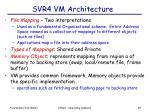 svr4 vm architecture