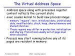 the virtual address space