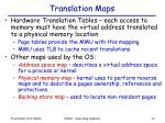 translation maps