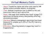 virtual memory costs