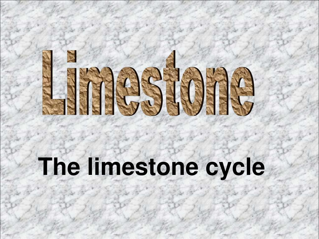 the limestone cycle l.