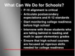 what can we do for schools