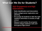 what can we do for students