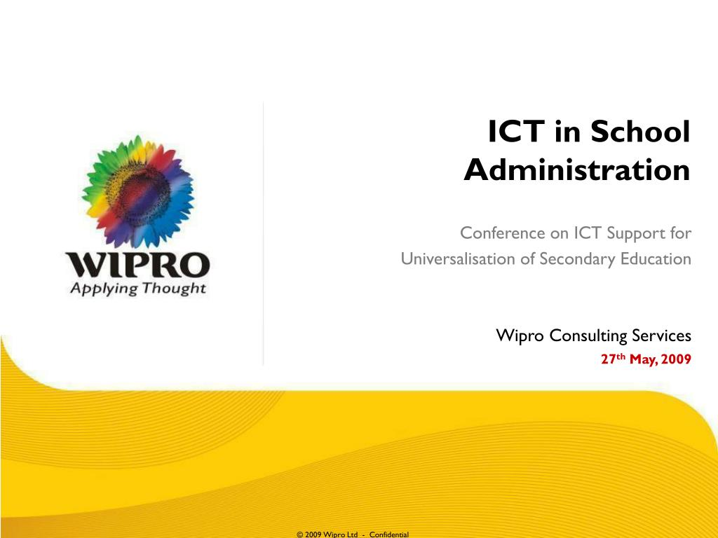 ict in school administration l.