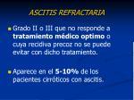 ascitis refractaria