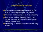 lanthanide contraction