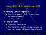properties of transition metals9