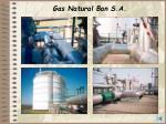 gas natural ban s a85