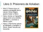 libro 3 prisionero de azkaban