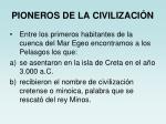 pioneros de la civilizaci n