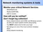network monitoring systems tools32