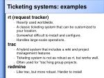 ticketing systems examples