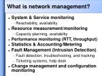 what is network management5
