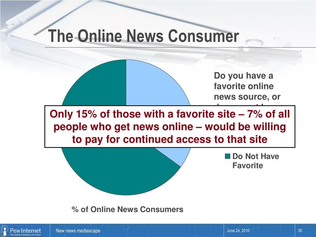 The Online News Consumer