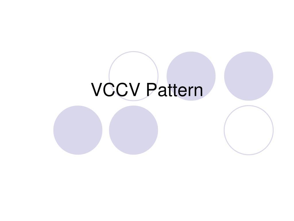 vccv pattern l.