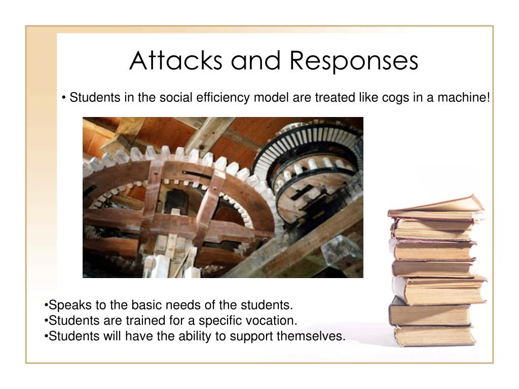 Attacks and Responses