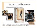 attacks and responses29
