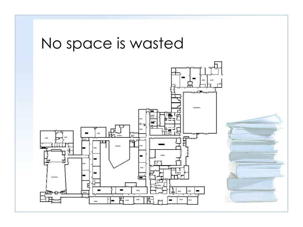 No space is wasted