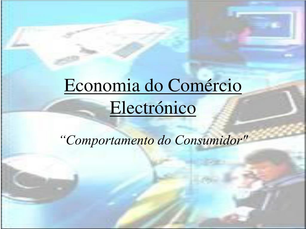 economia do com rcio electr nico l.