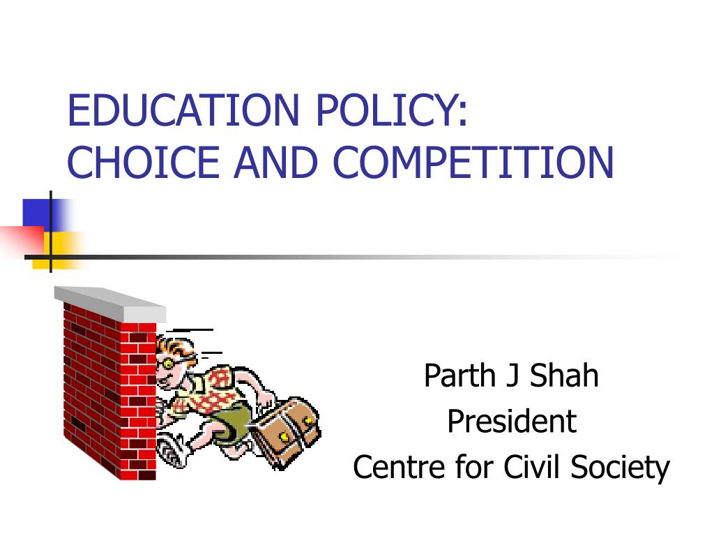 education policy choice and competition l.