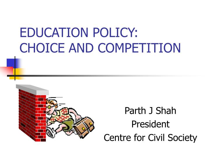 education policy choice and competition n.