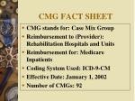 cmg fact sheet