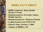 hhrg fact sheet