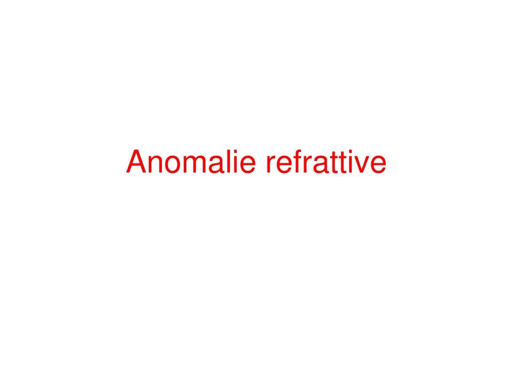 anomalie refrattive l.