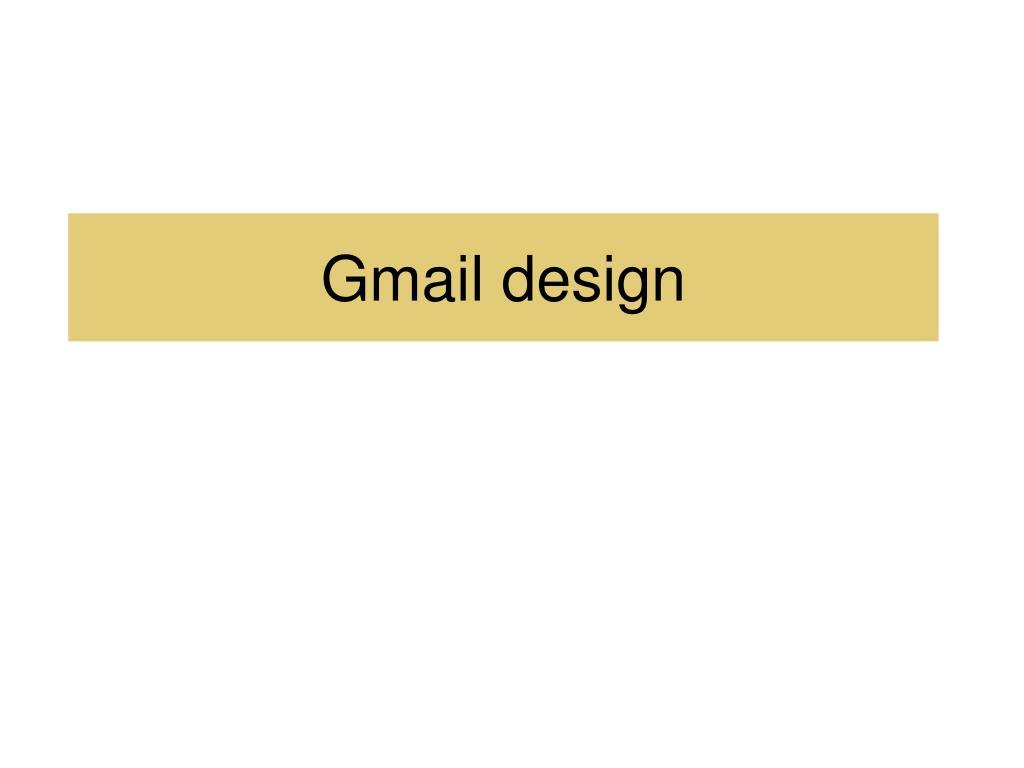 gmail design l.