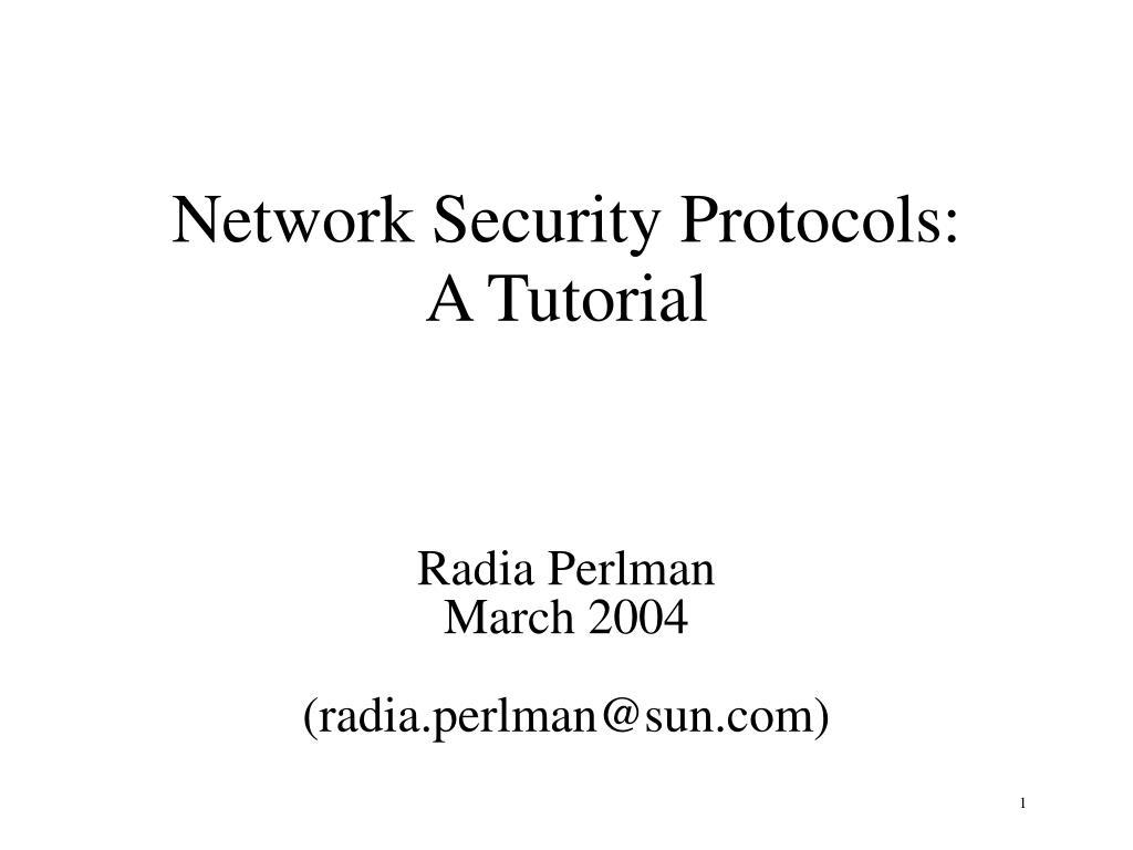 radia perlman march 2004 radia perlman@sun com l.