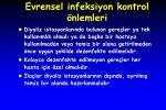 evrensel infeksiyon kontrol nlemleri1