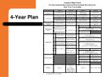 4 year plan